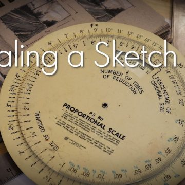 Scaling A Sketch Thumbnail